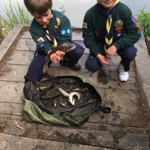 District Cub Fishing Competition